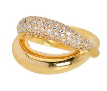Diamonds & Gold - Mauboussin Twins Ring
