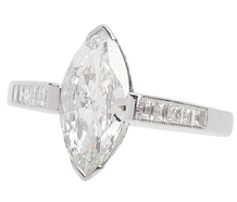 Longing - Marquise Diamond Engagement Ring