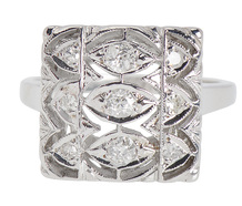 Vintage Stunner - Art Deco Diamond Ring