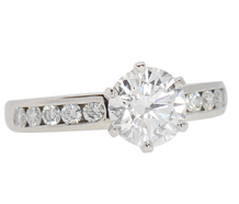 Tiffany Divine Engagement Ring - 1.39 Ct