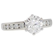 Tiffany Divine Engagement Ring - 1.39 Ct