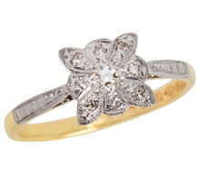 English Edwardian Diamond Engagement Ring