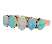 Edwardian Display - Five Opal Ring