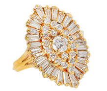 Ballet Extraordinaire - Diamond Statement Ring