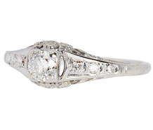 Posey of Flowers - Diamond Engagement Ring