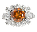 Autumn Leaves - Natural Colored Diamond Ring