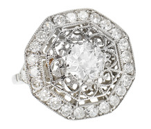 Heart Throb - Diamond Extravaganza Ring