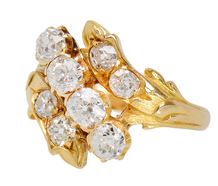 Evocative Antique Diamond Ring