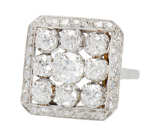 Magnificent 2.09 Carat Statement Ring