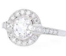 Balance Due For Ring 16845 - 1.15 ct Diamond Platinum Ring