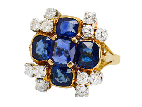 Four Corners of the Globe - Statement Ring