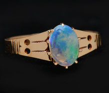 Flash - Edwardian Antique Opal Ring