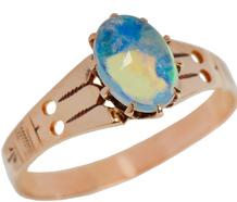 Flash - Edwardian Antique Opal Ring