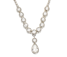 Intricacy in Simplicity - Articulated Necklace of Diamonds