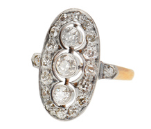 Vintage Elegance - Art Deco Diamond Ring