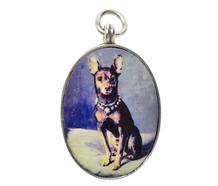 Best Friend - Vintage Sterling Pendant of a Dog