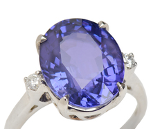 Opulent No Heat Color Changing Sapphire Ring