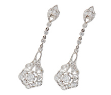For the Ages - Diamond Dangle Earrings