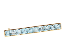 Lean & Linear - Gemstone Hair Barrette