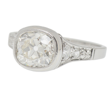 Fiery Beauty - 2.04 ct Diamond Engagement Ring