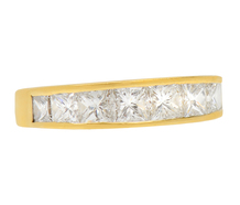 Tiffany Aura - Diamond Half Eternity Band