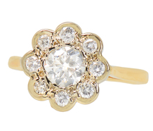 Spring Bouquet - Diamond Halo Ring