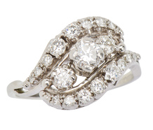 Jabel Vintage Diamond Ring