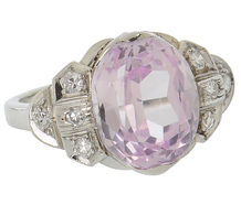 Tranquility - Pink Sapphire & Diamond Ring