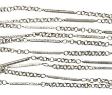 Art Deco Sterling Long Chain
