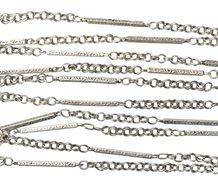 Art Deco Sterling Long Chain