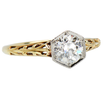 Jones & Woodland Diamond Solitaire Ring