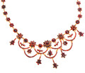 Bohemian Garnet Necklace - Victorian Festivities