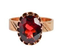Americana -  Victorian Garnet Ring