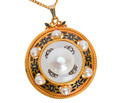 Victorian Rock Crystal Pearl Pendant