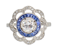 Artistry - Sapphire Engagement Ring