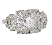 Platinum Paradise Diamond Ring