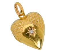 Heart Memories - Edwardian Locket Pendant