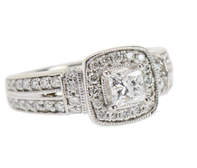 Attention Getter - Diamond Engagement Ring