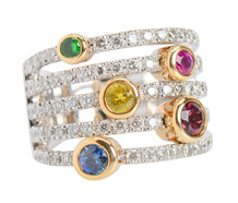 Sonia B Multi Stacked Ring