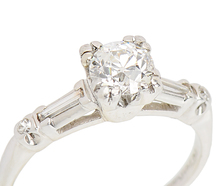 Classic Antique Diamond Engagement Ring