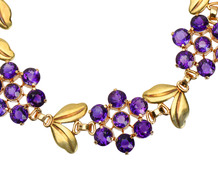 Wordley, Allsopp & Bliss Amethyst Bracelet