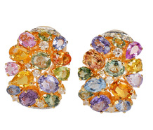 Frolic - Sapphire & Diamond Earrings