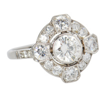 Wedded Bliss - Diamond Engagement Ring