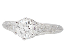 Dreams - Antique Diamond Engagement Ring .95 C