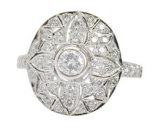 Patterns & Designs - Ornate Diamond Ring