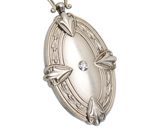 Art Deco Flair - Locket Pendant & Chain