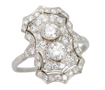 Parapet - Diamond Statement Ring
