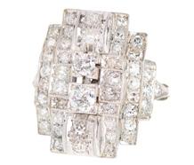 Glam Diamond Cocktail Ring
