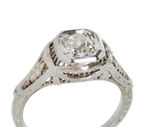 Forever Art Deco Engagement Ring