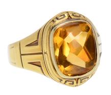 Larter & Sons Vintage Citrine Ring